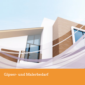 Gipser- und Malerbedarf